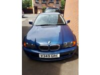 my blue 328ci for sale, spare or project,