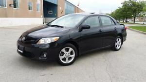 2012 TOYOTA COROLLA LE SUNROOF 1 OWNER ACCIDENT FREE FULLY LOADE