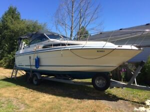 1988 Sea Ray Sundancer 268 and galvanized 2006 trailer