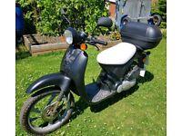 50cc Moped Honda Sky