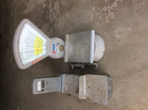 Old weigh scales