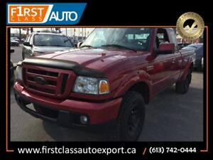 2007 Ford Ranger Sport - NO ACCIDENTS! NICE PICK UP TRUCK!