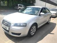 40000 MILES ONLY. AUDI A3 SE FSI. AUTOMATIC. AUTO. ALLOY WHEELS. A/C. PRIVATE PLATE.