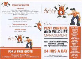 Pest control staff's,shrops,south cheshire