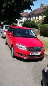 2012 Skoda Fabia, 1.6 TDI, AC, one owner, £20 road tax