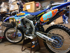 2011 Yamaha YZ450F FULL GYTR CUSTOM RACE BIKE WATCH VIDEO