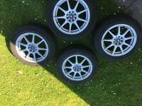 Bargain Continental Winter Tyres 205/55 R16 on 7J Alloys Wheels