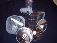Kenwood Food Processor FP476 Parts - Bowl Lid, Blades, Juicer