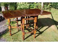 Vintage pine gateleg table