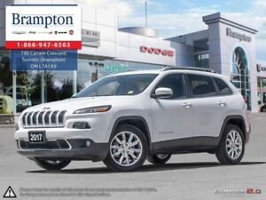 2017 Jeep Cherokee LIMITED | EX DEMO | LOW KMS | 8.4 IN TOUCHSCR