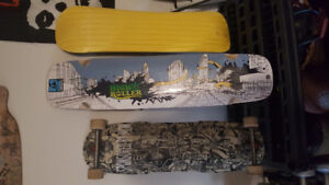Longboards and Snow Skate