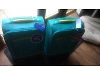 Two Dunelm cabin size suitcases *NEW*