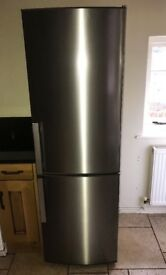 IKEA Fridge Freezer Stainless Steel A+++ 341 Litres