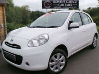 2012 NISSAN MICRA 1.2 12V ACENTA 5DR - LOW MILES - FULL S/HISTORY - £30 TAX