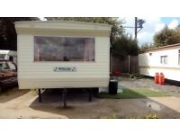 2 bed static mobile home
