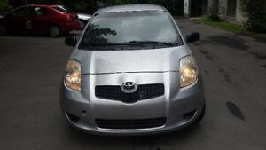 2007 Toyota Yaris Hatchback 4300 $ Négo