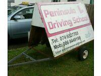 Mobile advertising unit