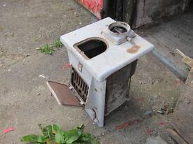 Vintage ceramic stove
