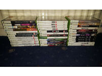 36 Xbox 360 Games (Fable, Farcry, Enslaved, Final Fantasy, FIFA, Prototype, Halo) Controllers