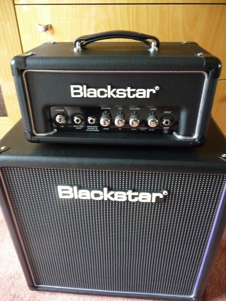 blackstar ht 1rh head 1w with reverb with a 4x8 ht 408 cab in liverpool merseyside gumtree. Black Bedroom Furniture Sets. Home Design Ideas