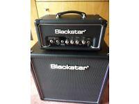 Blackstar HT-1RH Head 1w with Reverb with a 4x8 HT-408 Cab