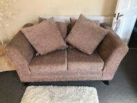 Beautiful Two Piece Sofa hardly been used in perfect condition