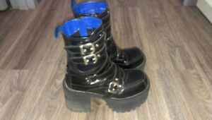 Yosuke USA platform boots authentic from Japan