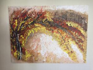 Original acrylic painting / peinture acrylique sur toile