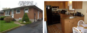 Detached bungalow with swimming pool for rent