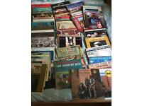 Country and Western and Bluegrass LP's