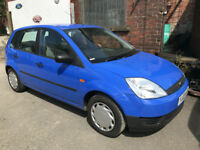 2003 FORD FIESTA FINESSE 1.25 PETROL 5 DOOR BLUE STUNNING **53,000 MILES**