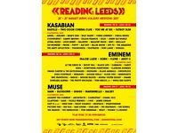 2 Leeds festival tickets saturday swap for reading