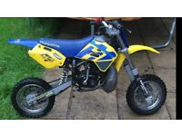 Husky boy 50cc kids motocross bike