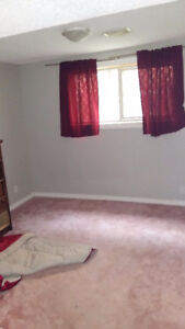 large bright basement suite with free TV and WIFI