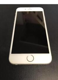 iPhone 6 16gb SILVER/UNLOCKED/EXCELLENT CONDITION