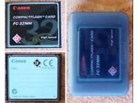 canon flash card