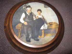 Norman Rockwell The Lighthouse Keeper's Daughter 1979 Collector