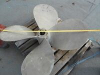 "FAL Propeller, 52 x 45,1/2"" pitch."