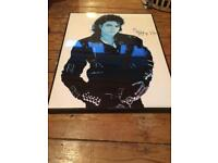 THE KING OF POP poster