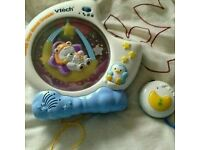 Baby walker, musical mobile and bedroom Items.