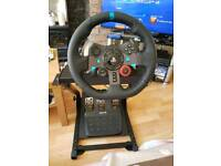 G29 Steering wheel with Mount.