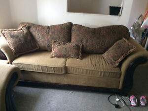 Couch and Chair Set $125 OBO