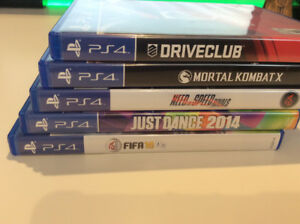PlayStation 4 Games!