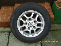 suzuki jimny alloy wheel