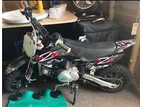 90cc KFX Semi automatic small wheeled pit bike
