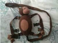 Monkey toddler harness reins