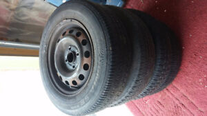 Used Honda Civic Winter Tires with Rims $80