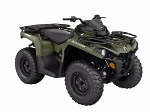 NEW 2016 Can-Am Outlander 570 -- $29 weekly
