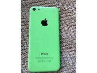 I PHONE 5 C GREAT CONDITION , WITH CHARGING LEAD , UNLOCKED, GREEN ,