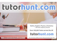 Tutor Hunt Cambridge - UK's Largest Tuition Site- Maths,English,Science,Physics,Chemistry,Biology